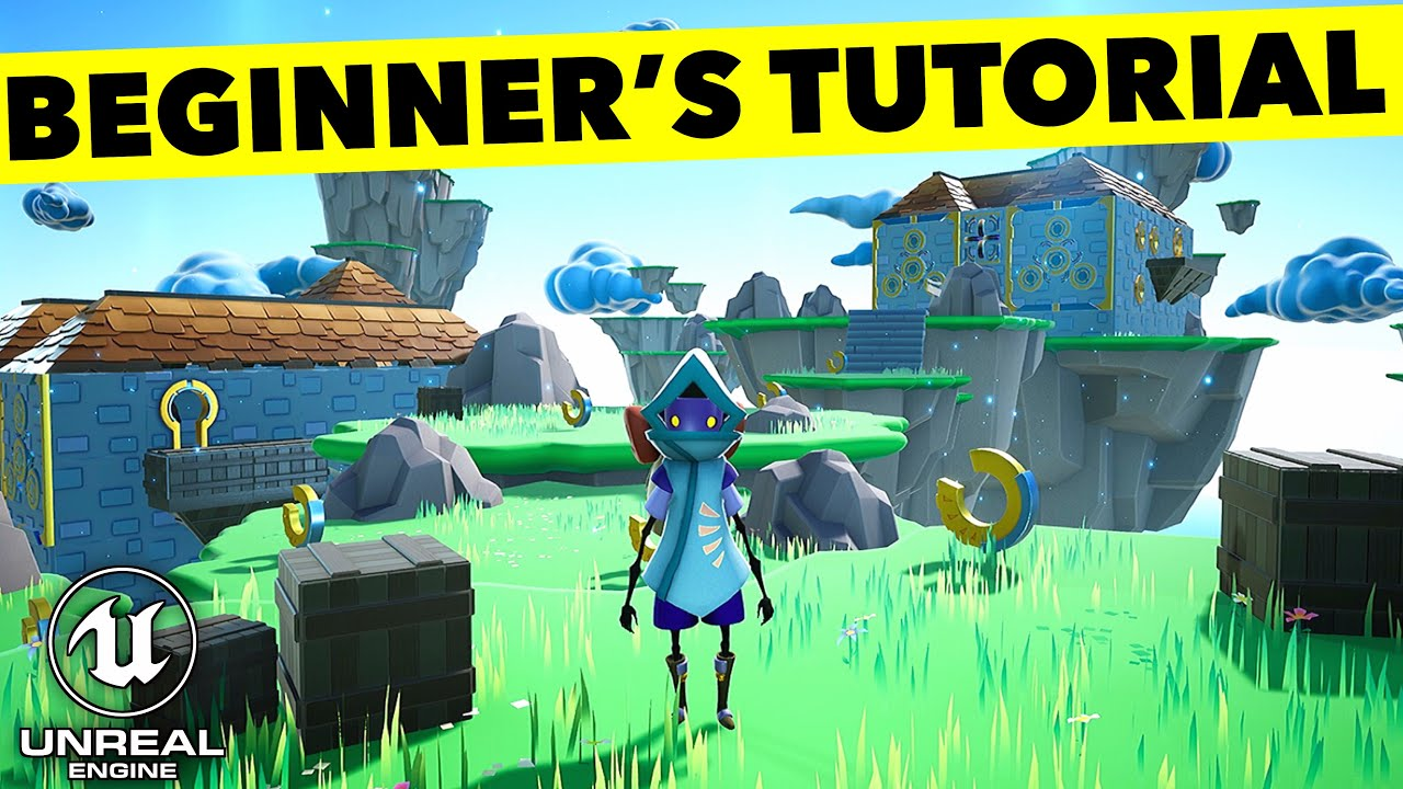 Unreal Engine 4.26 Beginner's Tutorial: Make a Platformer Game