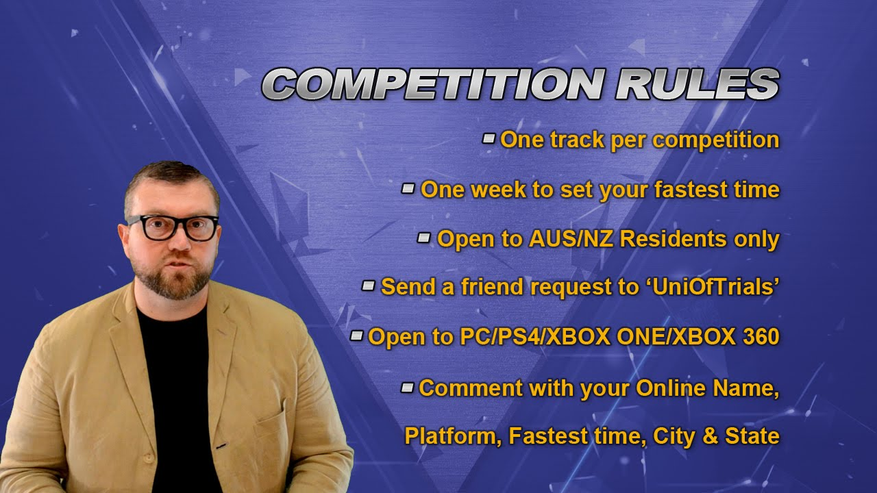 Finally A Trials Fusion Competition I Have A Chance Of Winning…