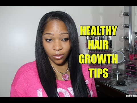 Video 11 Tips To Healthy Relaxed Hair Growth