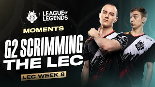 LEC : le highlight et voicecomms de la semaine 8 des G2 Esports