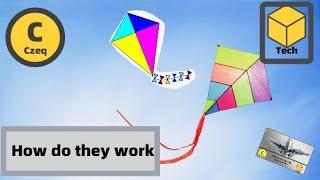 How do kites fly
