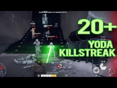 20+ YODA KILLSTREAK! STAR WARS BATTLEFRONT 2 Mp3