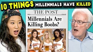 10 Things Millennials Have Killed | Millennials & Boomers React