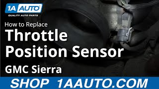 TPS Sensor Step by Step Replacement Guide