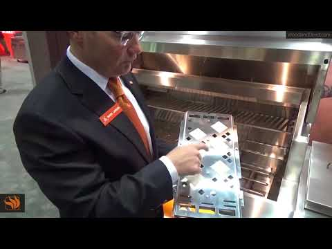 Flip to Clean Briquette Tray by Hestan
