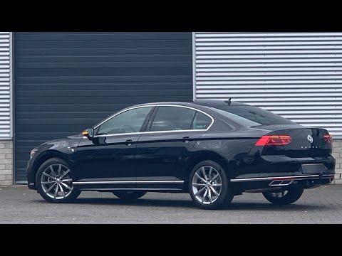 Volkswagen NEW Passat R-Line 2020 in 4K Deep Black Pearl 18 inch Montery walk around & detail inside