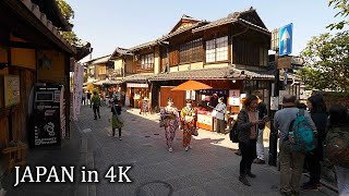 【4K】Morning Kyoto - walking around Kiyomizudera