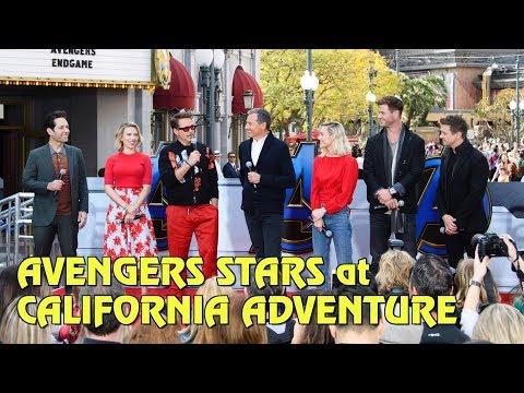 Vingadores fazem aparição surpresa na Disney California Adventure