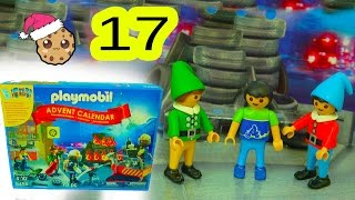 New Elf  - Playmobil Holiday Christmas Advent Calendar - Toy Surprise Blind Bags  Day 17