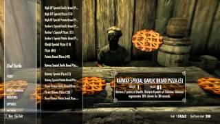 Skyrim Pizza Hearthfire Edition - Mod Showcase