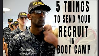 5 THINGS TO SEND YOUR RECRUIT IN BOOT CAMP | NAVY BOOT CAMP 2020