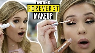 Full Face TESTING FOREVER 21 Makeup... IS IT ANY GOOD??   HIT or MISS