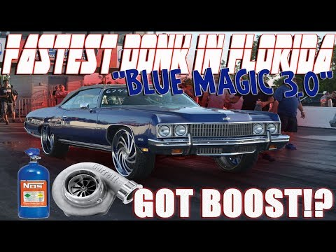 The Fastest Donk In Florida....BIG TURBO BOOST! (Street Beast II Grudge Race)