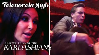 Scott Gets Into Club Brawl To Protect Kim Kardashian | KUWTK Telenovelas | E!