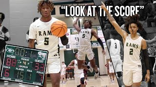 """LOOK AT THE SCORE"" Grayson Bounce Bros DESTROY Opponent BY 55 + Caleb Murphy & Deivon Smith GO OFF"