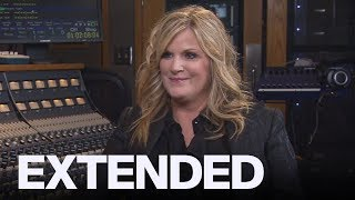 Trisha Yearwood On Working With Husband Garth Brooks | EXTENDED