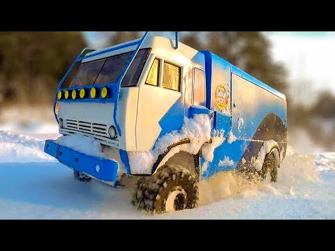 RC Trucks OFF Road Snow Adventures KAMAZ 4x4, Jeep, Mercedes, Toyota — Wilimovich