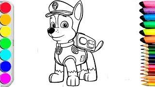 Download Video Раскраски для детей//Учим цвета и рисовать//Щенячий патруль //Coloring books for children MP3 3GP MP4