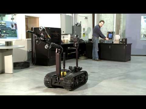 Radyasyon temizleyen robot