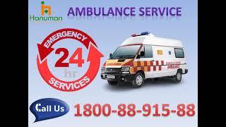 Hire Top Class Road Ambulance Service in Darbhanga and Muzaffarpur