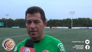Hárold López asistente técnico de LaSeleFemeninaSub20 brinda sus impresiones tra