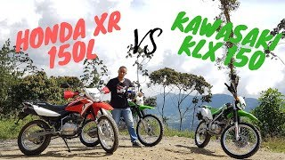 Honda XR 150L VS Kawazaki KLX 150