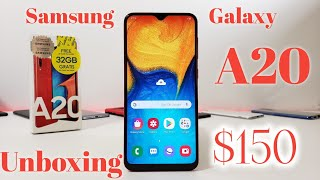 Samsung Galaxy A20 Unboxing and Complete Walkthrough