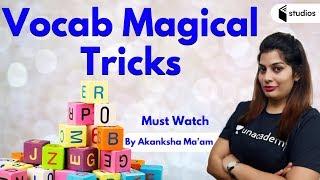 8:15 AM - Vocab Magical Tricks By Akanksha Ma'am | Must Watch