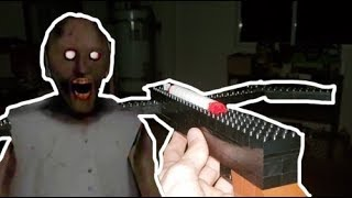 Granny Horror Game In Real Life! | LEGO Edition?!