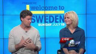 Stars of NBC's 'Welcome To Sweden' give sneak peek at Season 2