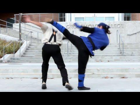 Karate vs Drunken Kung Fu | Martial Arts Action Scene
