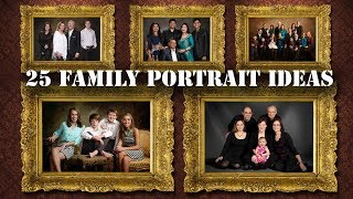 25 Family Portrait Ideas For Photography || Pictures || Latest ||  Photographers ||