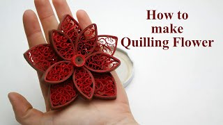 Diy quilling flower wall decor how to make quilling flowers wall quilling flowers tutorial how to make paper quilling flowers easy mightylinksfo