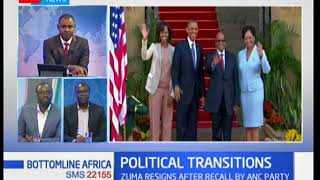 What's the trend with the wave of political transitions in Africa: Bottomline Africa