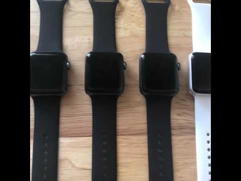Apple watch sr2 42mm nhôm giá 3500k đủ pk ! Hcm 0933151793