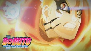 Baryon Naruto vs Isshiki | Boruto: Naruto Next Generations