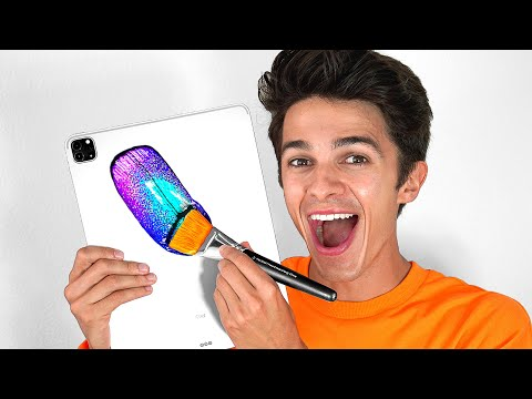I Surprised Brent Rivera With A Custom iPad Pro Mural - Tik Tok