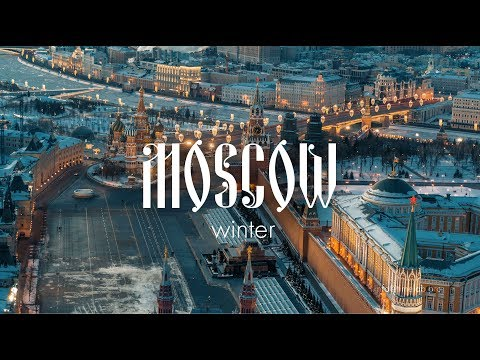 Desperation of winter Moscow \\ Russia Drone Video \\ Shot on DJI X7