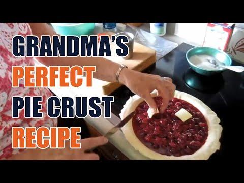 Grandma&#39s Perfect Pie Crust Recipe