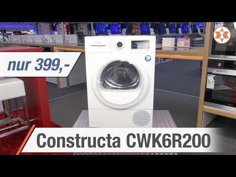 Constructa Trockner CWK6R200 für nur 399 Euro - Die TOP FEATURES │ Angebot der Woche