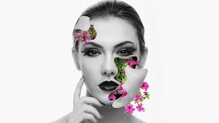 Photoshop Tutorial - Flower Face Effects