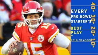 Every 2019 Pro Bowl Starter's Best Play! | NFL Highlights