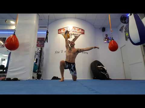 Kettlebell Turkish Get-Up (Lunge style)