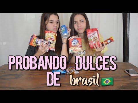 PROBANDO DULCES DE BRASIL CON MI HERMANA || Ft. Bri Dominguez