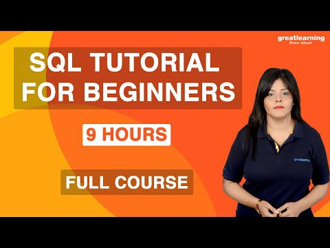 SQL Tutorial for Beginners | SQL Full Course | Learn SQL for Beginners | Great Learning