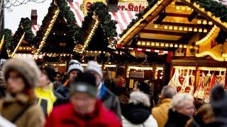Deutsche Weihnachtsmärkte offenbar gut geschützt | Kholo.pk