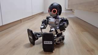 ROBO TOYS | ROBI 2.0 - HUMANOIDER ROBOTER - KÜNSTLICHE INTELLIGENZ