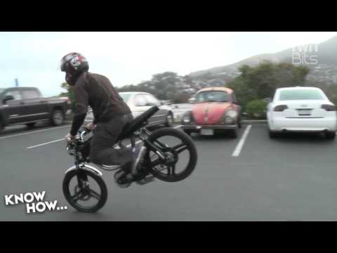 Bolt Electric Hybrid Motorbike
