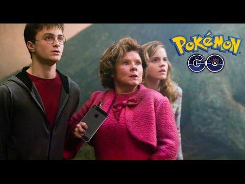 Harry Potter hraje POKÉMON GO! (parodie)