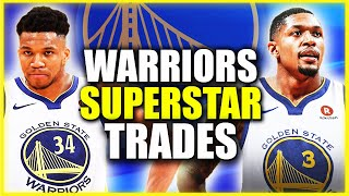 6 TRADES THE GOLDEN STATE WARRIORS SHOULD MAKE WITH 2ND PICK + KLAY THOMPSON THIS OFFSEASON!